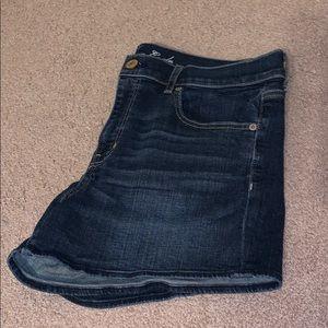 AEO Stretch Jean Shorts